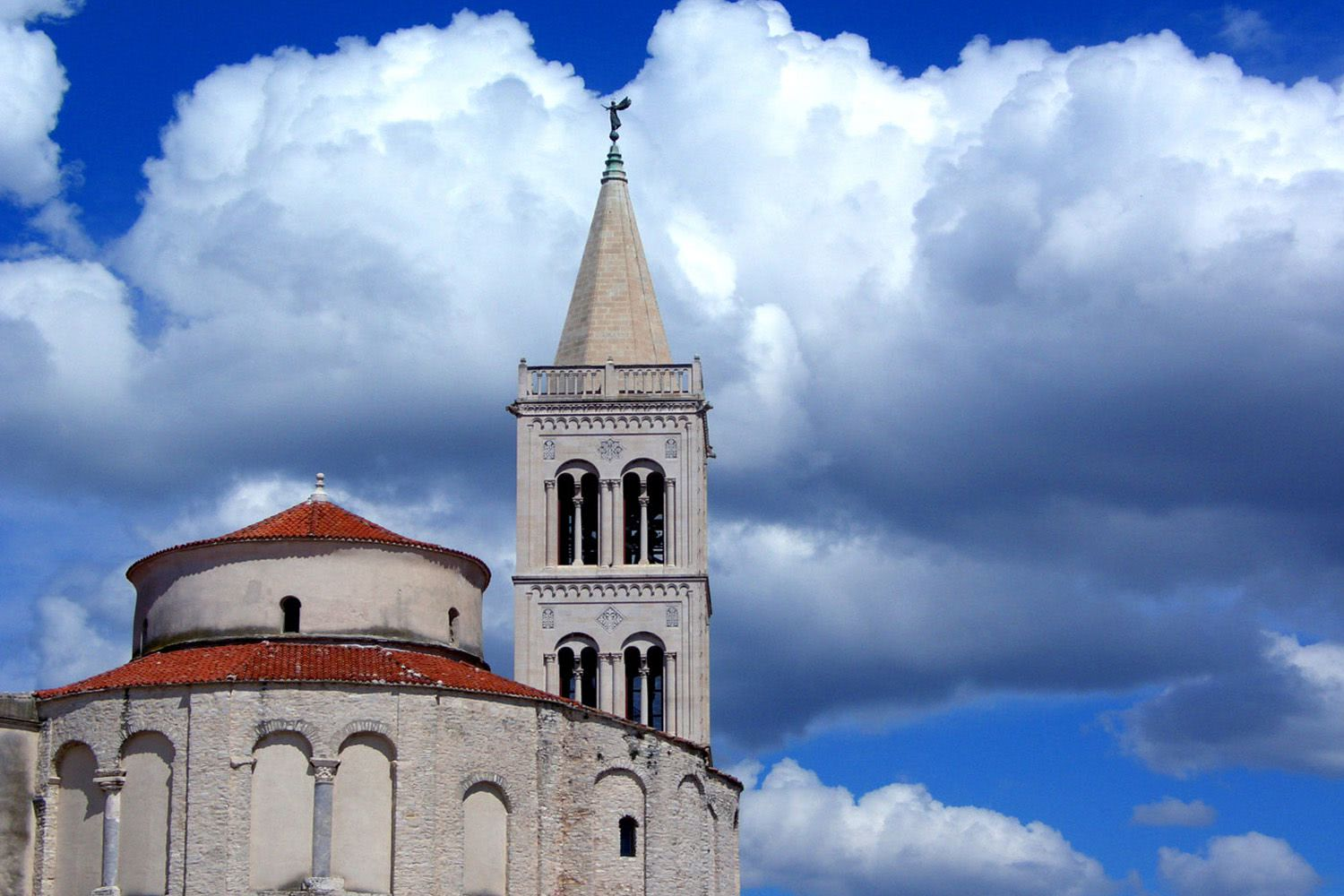 St Donatus church in Zadar