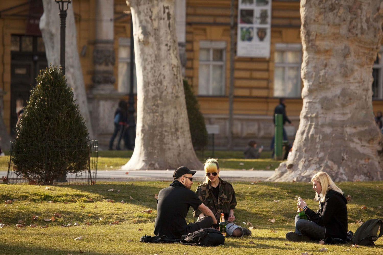 Zrinjevac Park Zagreb