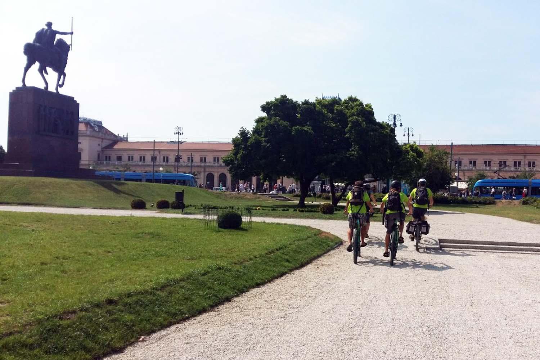 Bike tour of Zagreb, Croatia
