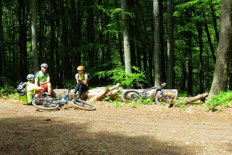 Mountain Bike Tour Zagreb, Medvednica NP
