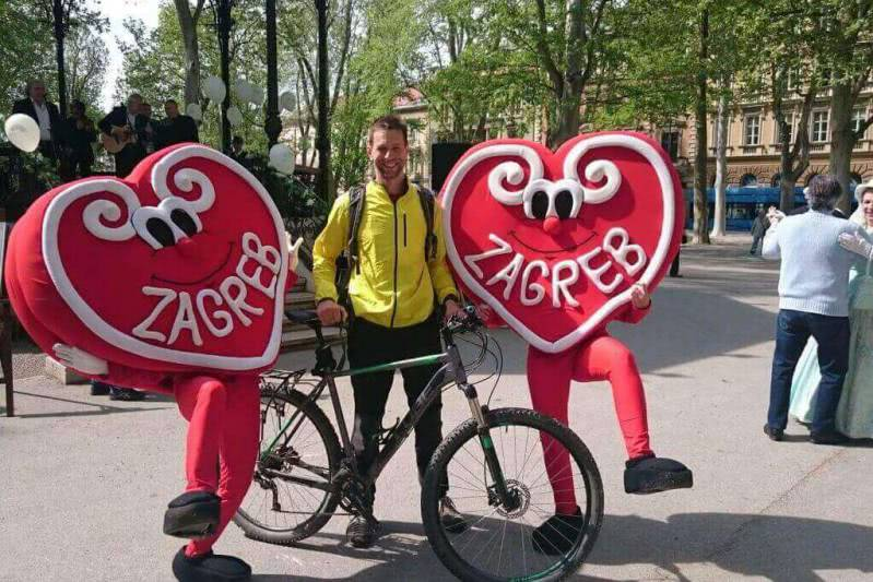 Zagreb tours by bike, Croatia