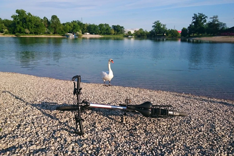 Lake Jarun bike tour, Zagreb, Croatia