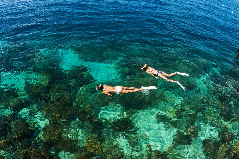 Snorkeling Adriatic Sea Croatia