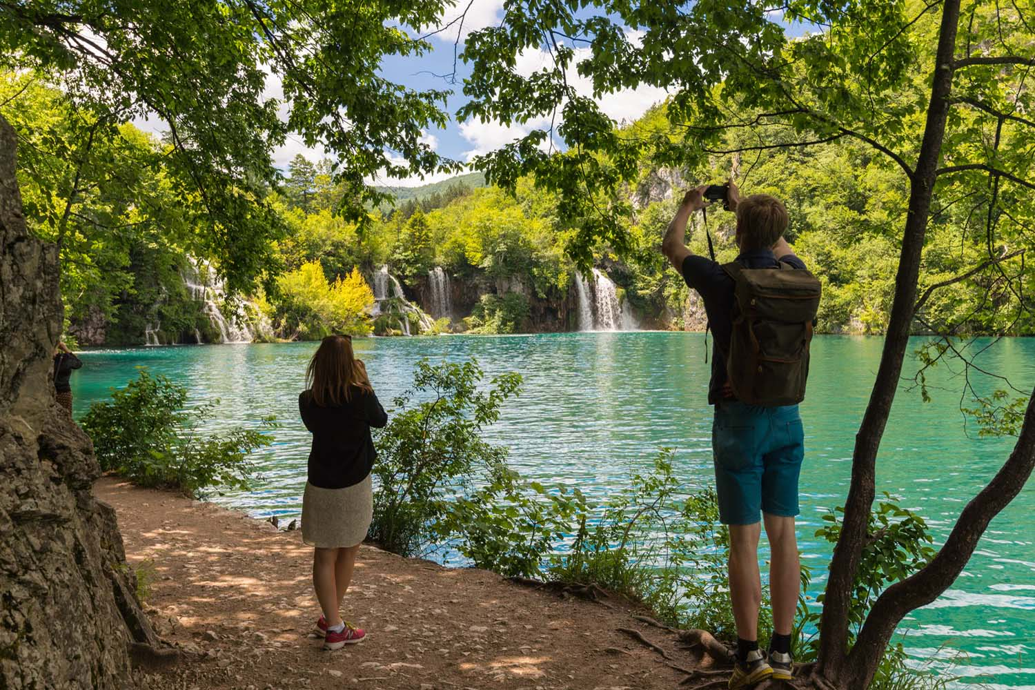 Plitvice walking tour, Croatia