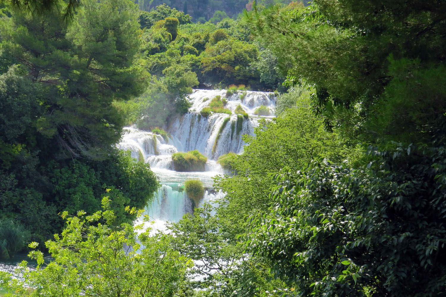 Walking Krka River National Park, Croatia