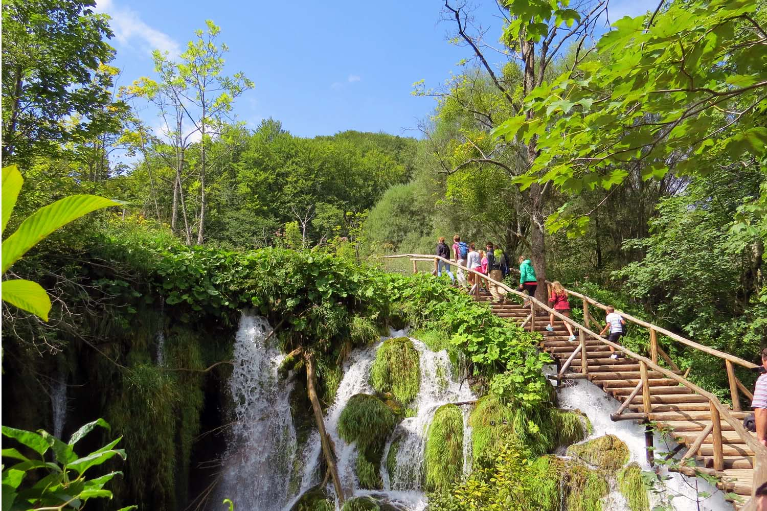 Walking Plitvice Lakes National Park