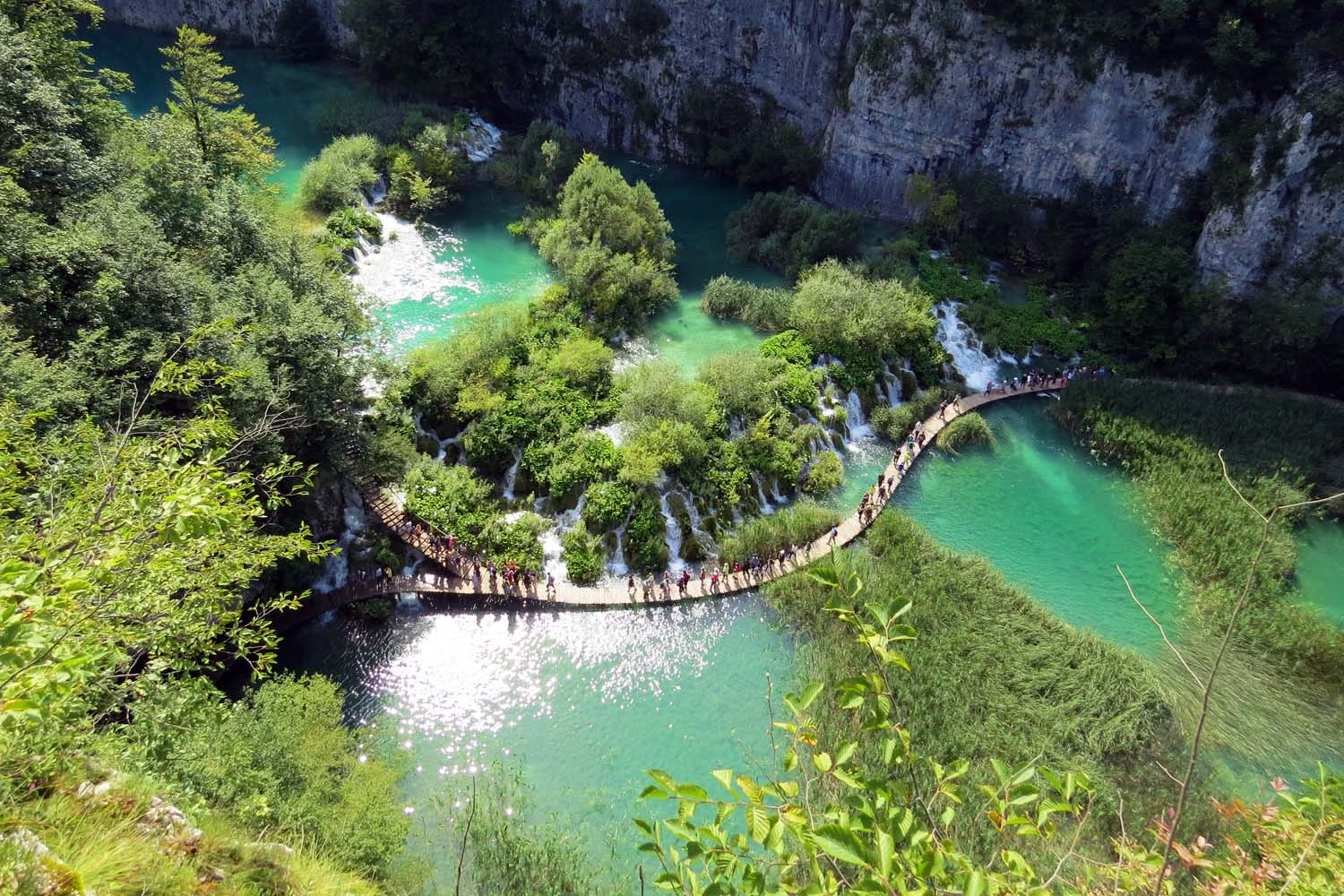 Hike in Plitvice Lakes Croatia