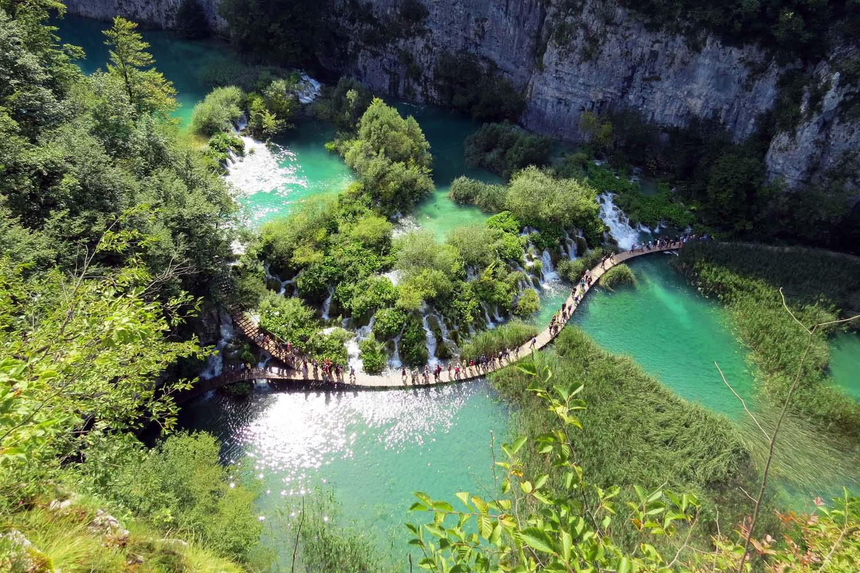 Hike Plitvice Lakes Croatia