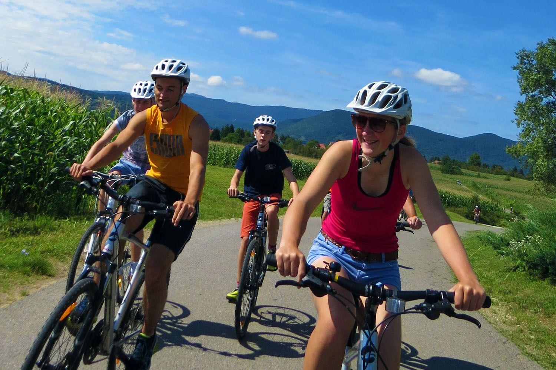 Plitvice cycling Croatia