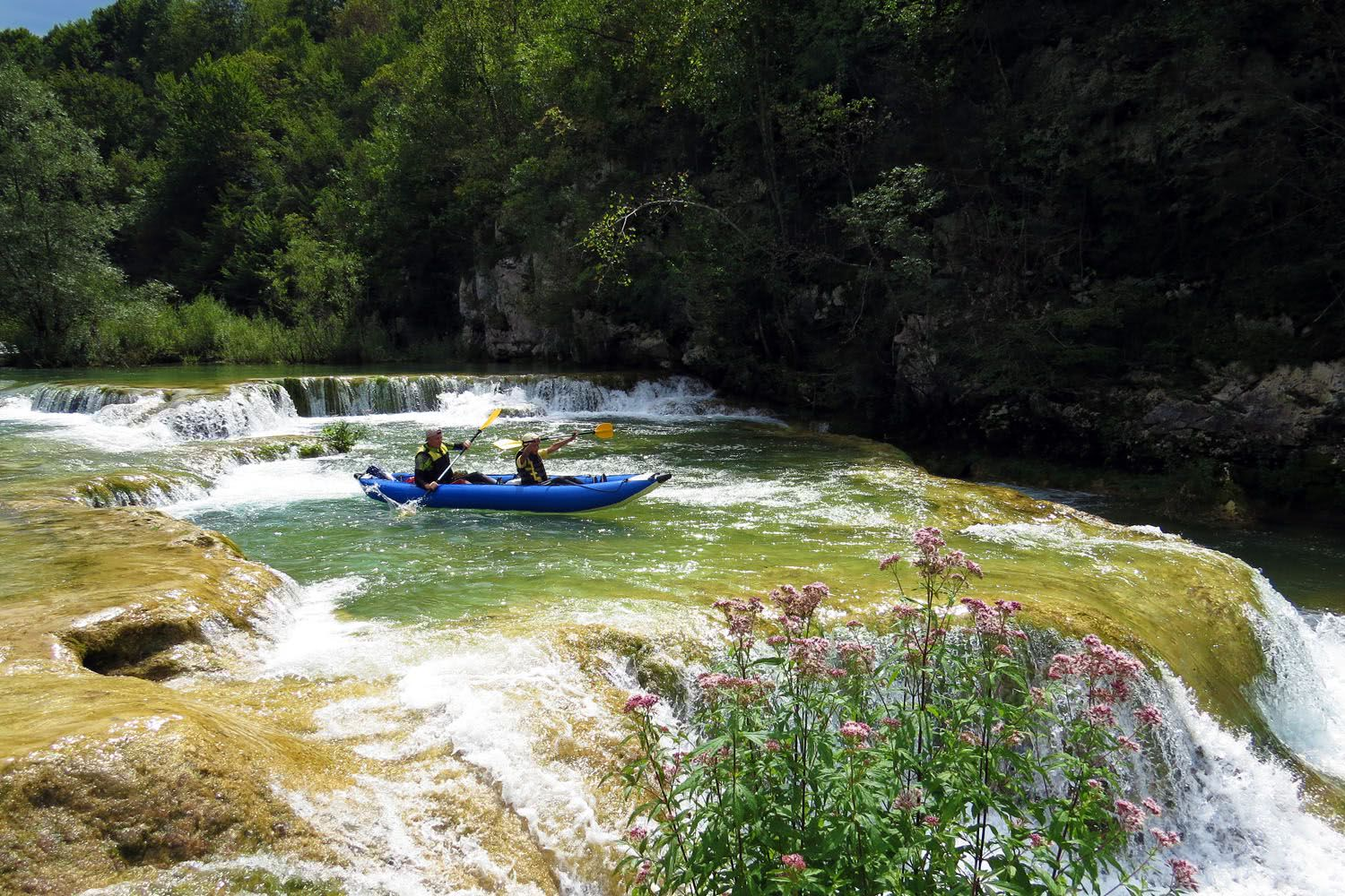 Family Kayaking Croatia