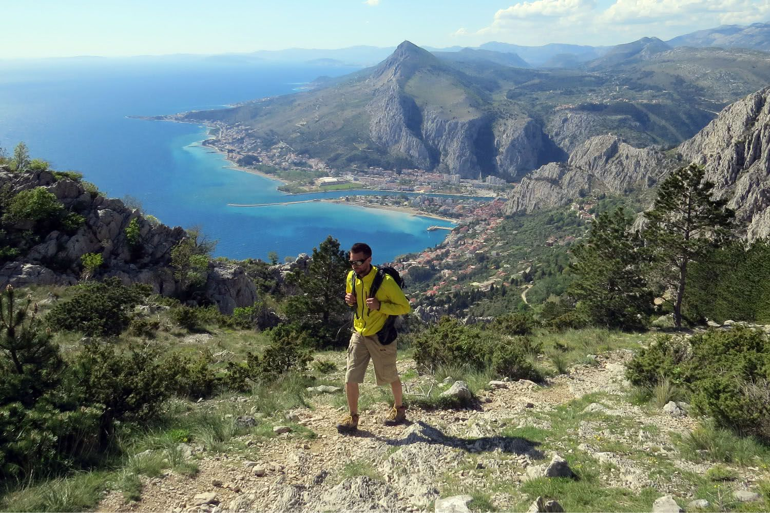 Hiking Omiska Dinara Split Region