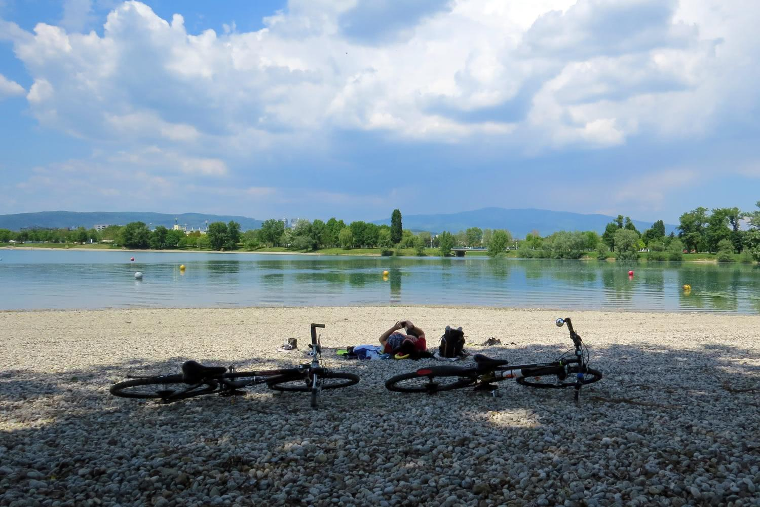 Biking Break Lake Jarun Croatia