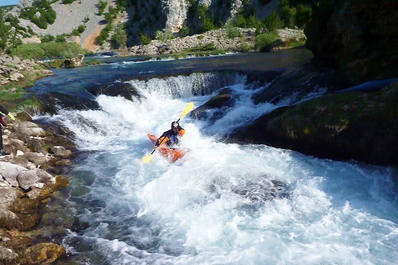 Kayaking Zrmanja River Croatia