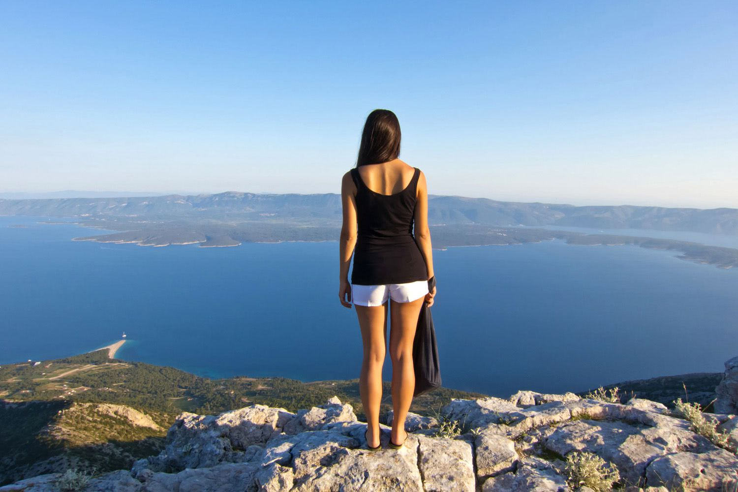 Hiking Tour Mt Vidova Gora, Brac Island, Croatia