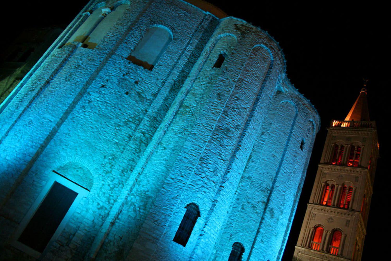 St Donatus church Croatia, Croatia adventure tours