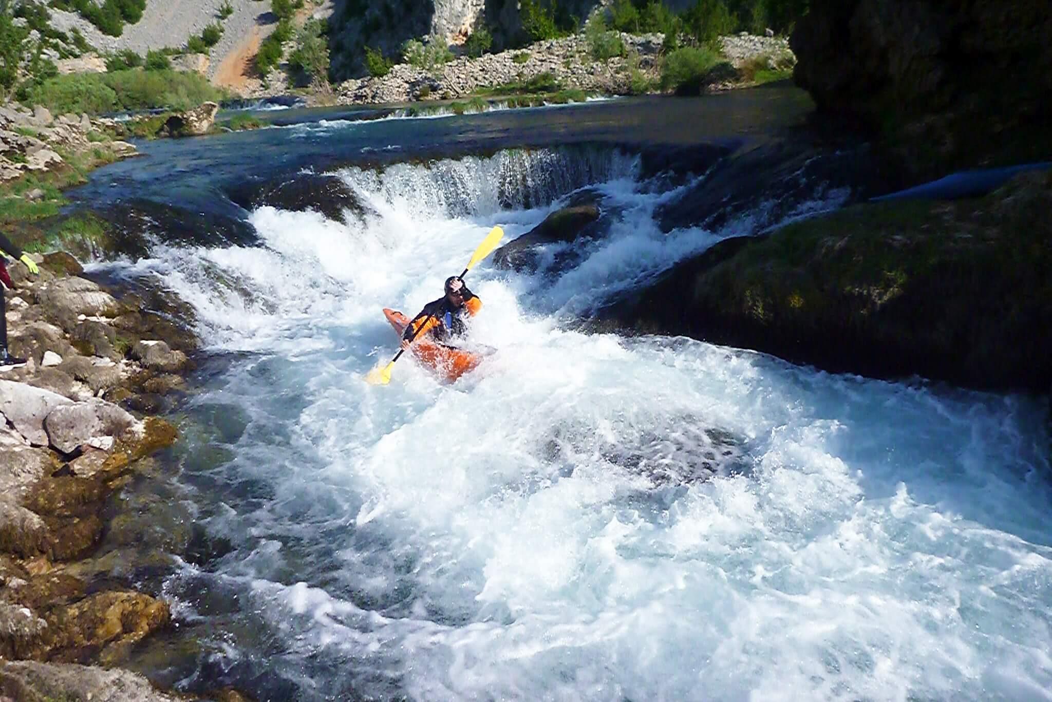 Balkan River Tour, Zrmanja River Kayaking Trip, Croatia