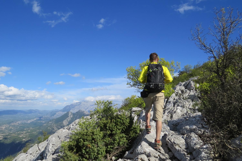Hiking Tour Croatia, Mt Omiska Dinara, Omis