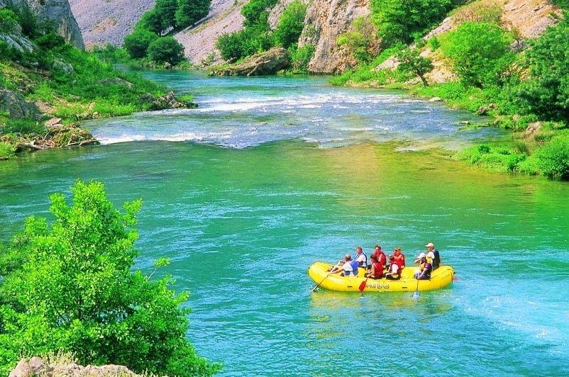 Zrmanja River Rafting Trip, Croatia