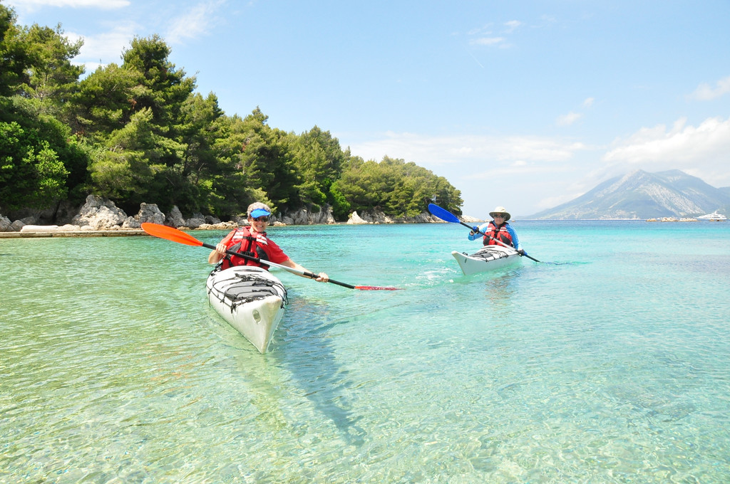 Adventure Sailing Trip Dubrovnik Croatia, Sea Kayaking Peljesac Peninsula
