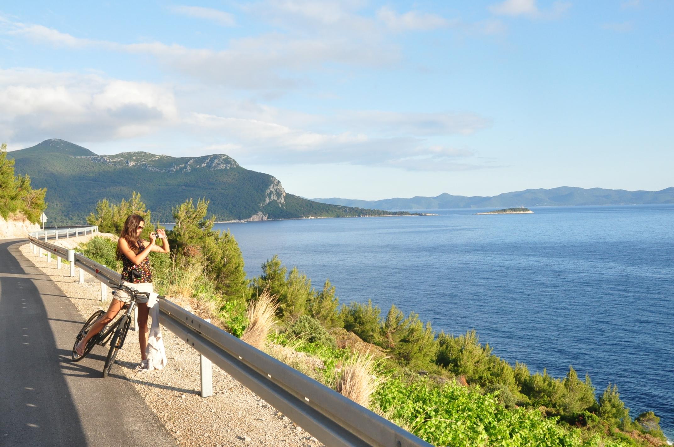 Adventure Sailing Trip Dubrovnik Croatia, Cycling Peljesac Peninsula