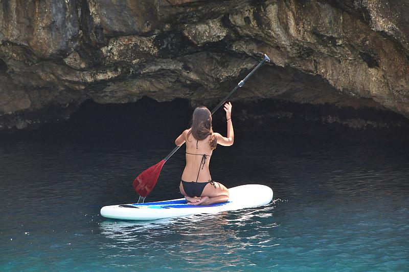 Adventure Sailing Trip Dubrovnik Croatia, SUP Kolocep Blue Cave