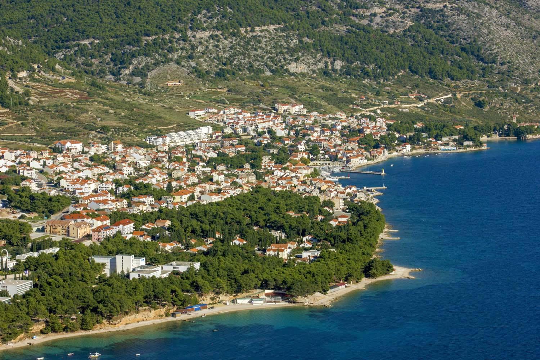 Brac Island Hiking Tour, Bol town, Croatia