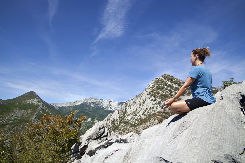 Yoga & Hiking Tour, Paklenica NP, Croatia