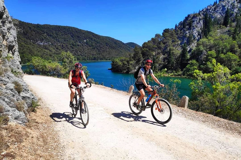 Cycling Krka River National Park Croatia