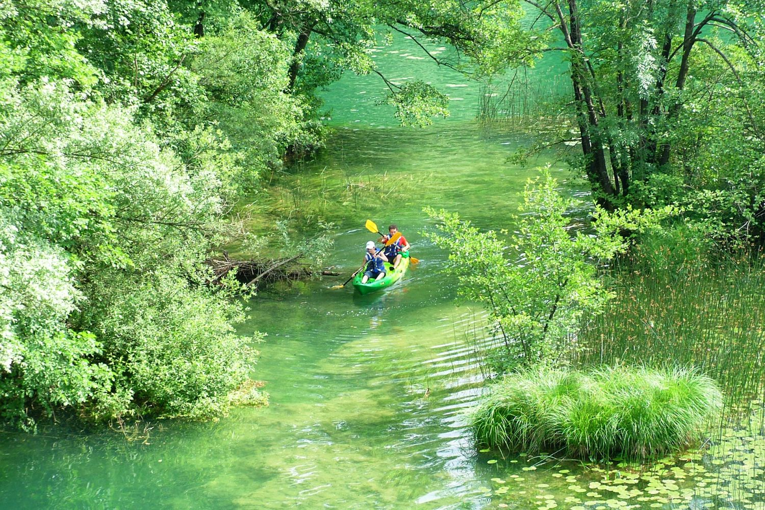 Mreznica River Kayaking Tour Croatia