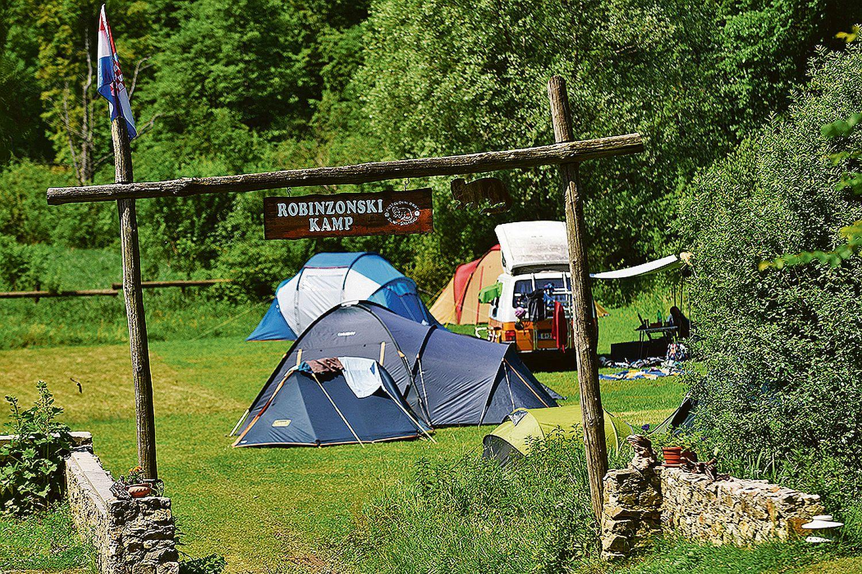 Mreznica River Camp Croatia