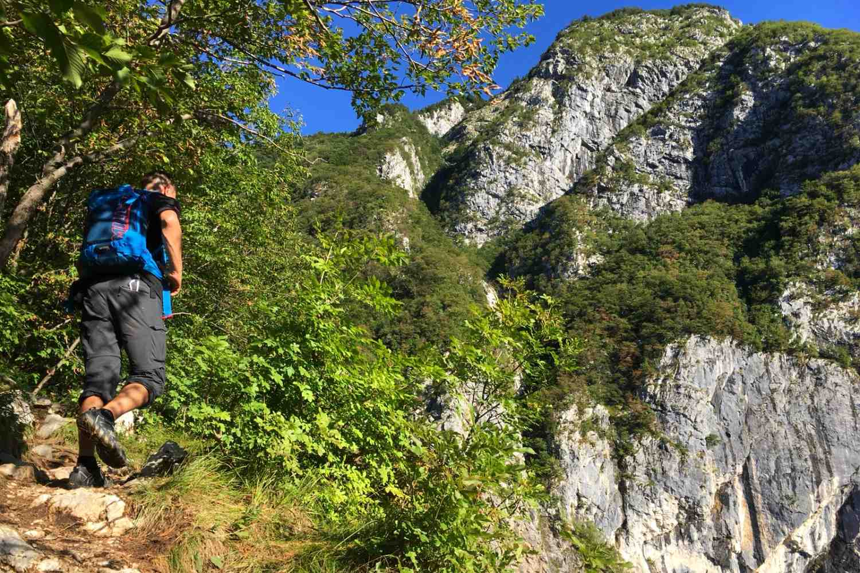 Slovenia Multisport Adventure, Hiking Vrsic Pass