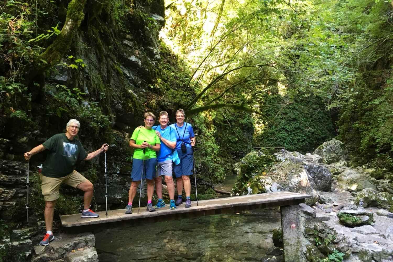 Slovenia Multisport Adventure, Hiking in Soca River Valley
