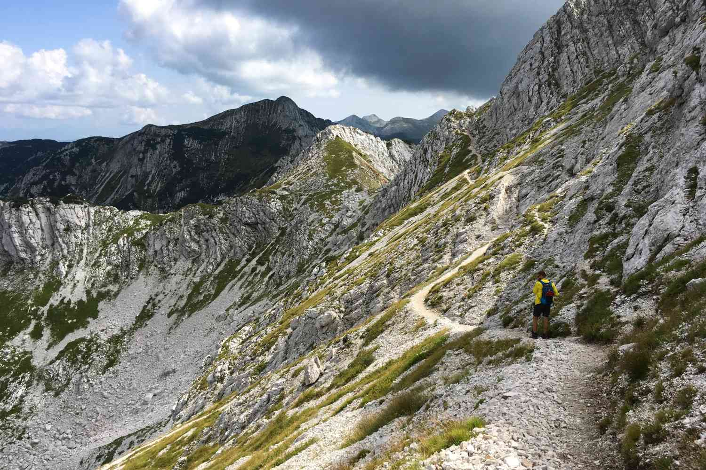 Slovenia Multisport Adventure, hiking tour in the Alps