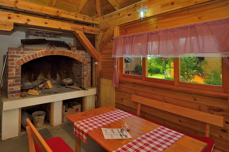 Dinning room, guesthouse Plitvice, Croatia